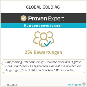 Erfahrungen & Bewertungen zu GLOBAL GOLD AG