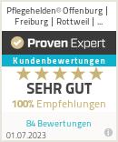 Erfahrungen & Bewertungen zu Pflegehelden® Offenburg | Freiburg | Rottweil | Lörrach
