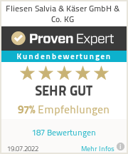 Erfahrungen & Bewertungen zu Fliesen Salvia & Käser GmbH & Co. KG
