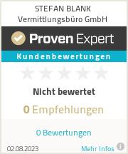 Erfahrungen & Bewertungen zu STEFAN BLANK Vermittlungsbüro GmbH