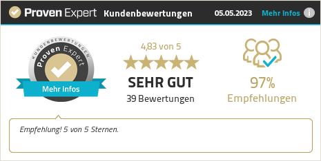Kundenbewertungen & Erfahrungen zu StressButler GmbH. Mehr Infos anzeigen.