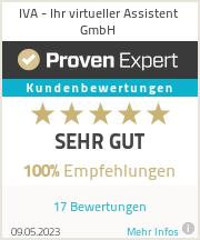 Erfahrungen & Bewertungen zu IVA - Ihr virtueller Assistent GmbH