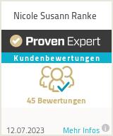 Erfahrungen & Bewertungen zu Nicole Susann Ranke