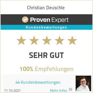 Erfahrungen & Bewertungen zu Christian Deuschle