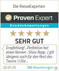 Erfahrungen & Bewertungen zu Die ReiseExperten