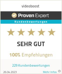 Erfahrungen & Bewertungen zu videoboost