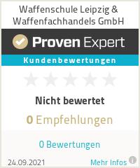 Erfahrungen & Bewertungen zu Waffenschule Leipzig & Waffenfachhandels GmbH