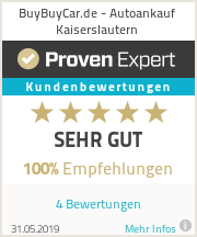 Erfahrungen & Bewertungen zu BuyBuyCar.de - Autoankauf Kaiserslautern