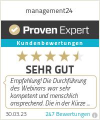 Erfahrungen & Bewertungen zu management24