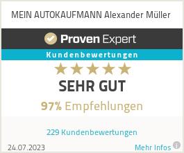 Erfahrungen & Bewertungen zu MEIN AUTOKAUFMANN Alexander Müller