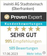 Erfahrungen & Bewertungen zu inviniti AG Stadtsteinach (Oberfranken)