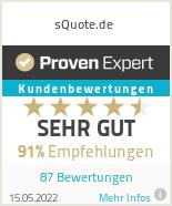 Erfahrungen & Bewertungen zu sQuote.de
