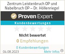 Erfahrungen & Bewertungen zu Zentrum Leistenbruch OP und Nabelbruch OP – Dr. Höllenriegel