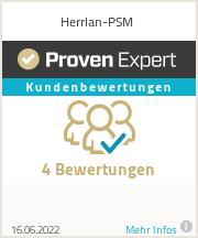 Erfahrungen & Bewertungen zu Herrlan-PSM