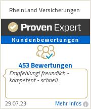 Erfahrungen & Bewertungen zu RheinLand Versicherungen