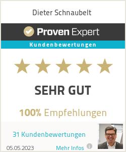 Erfahrungen & Bewertungen zu Dieter Schnaubelt