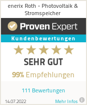 Erfahrungen & Bewertungen zu enerix Roth - Photovoltaik & Stromspeicher