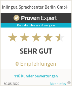 Erfahrungen & Bewertungen zu inlingua Sprachcenter Berlin GmbH