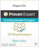Erfahrungen & Bewertungen zu Hegau Koi |Bernd Kellermeier
