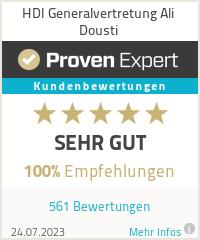 Erfahrungen & Bewertungen zu HDI Generalvertretung Ali Dousti