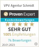 Erfahrungen & Bewertungen zu VPV Agentur Schmidt