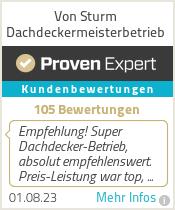 Erfahrungen & Bewertungen zu Von Sturm Dachdeckermeisterbetrieb
