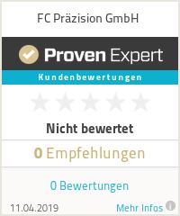 Erfahrungen & Bewertungen zu FC Präzision GmbH