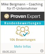 Erfahrungen & Bewertungen zu Mike Bergmann - Seminare und Consulting für IT-Profis