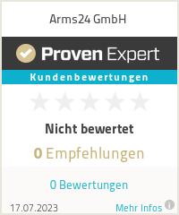 Erfahrungen & Bewertungen zu Arms24 GmbH