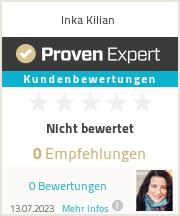 Erfahrungen & Bewertungen zu Inka Kilian