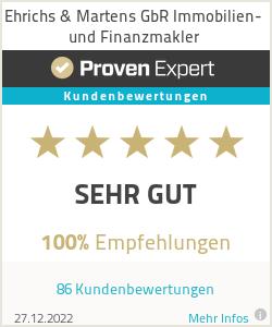 Erfahrungen & Bewertungen zu Ehrichs & Martens GbR Immobilien- und Finanzmakler