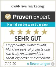 Erfahrungen & Bewertungen zu creARTive marketing