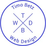 Timo Betz Web Design logo