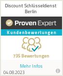 Erfahrungen & Bewertungen zu Discount Schlüsseldienst Berlin