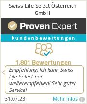 Erfahrungen & Bewertungen zu Swiss Life Select Österreich GmbH