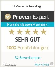 Erfahrungen & Bewertungen zu IT-Service Freytag