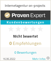 Erfahrungen & Bewertungen zu Internetagentur on-projects