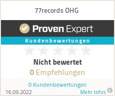 Erfahrungen & Bewertungen zu 77records.de, Einhellig Thomas