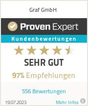 Erfahrungen & Bewertungen zu Graf GmbH