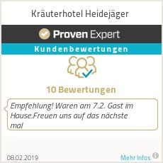 Erfahrungen & Bewertungen zu Kräuterhotel Heidejäger