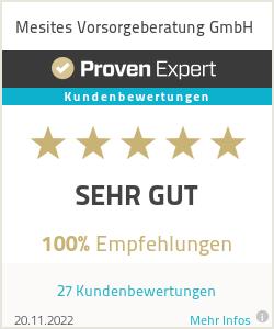 Erfahrungen & Bewertungen zu Mesites Vorsorgeberatung GmbH