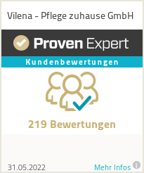 Erfahrungen & Bewertungen zu Vilena - Pflege zuhause GmbH