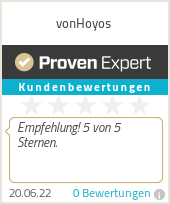 Erfahrungen & Bewertungen zu vonHoyos