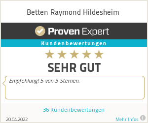 Erfahrungen & Bewertungen zu Betten Raymond Hildesheim