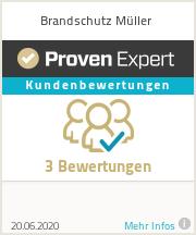 Erfahrungen & Bewertungen zu Brandschutz Müller