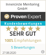 Erfahrungen & Bewertungen zu Innercircle Mentoring GmbH