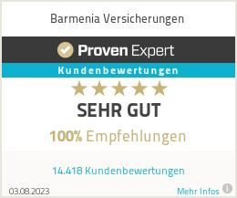 Erfahrungen und Bewertungen zu Barmenia Versicherungen