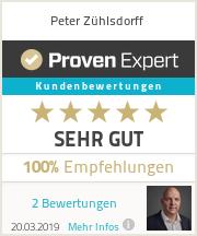 Erfahrungen & Bewertungen zu Peter Zühlsdorff