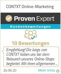 Erfahrungen & Bewertungen zu CONTXT Online-Marketing