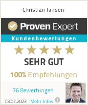 Erfahrungen & Bewertungen zu Christian Jansen